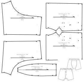 a0194a4e971b Ropa interior 796 : Ropa Interior : HOMBRES : Patrones Industriales ...
