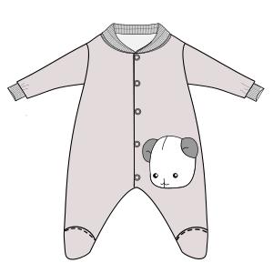 c0b909e788 Modelos de ropa patrones para todas las edades Pijama 2802 BEBES Accesorios