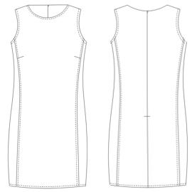 Patrones vestidos de mujer