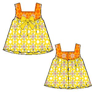 Confeccion de moda profesional Vestido Cloque 0016 BEBES Vestidos f59e57aee03