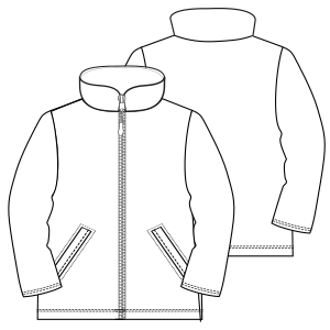 Browse our catalogue for sewing patterns Jacket 6997 GIRLS Jackets