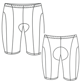Select your   sewing patterns Cycling Short 2852 MEN Trousers