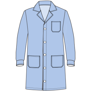 Browse our  sewing patterns Teacher smock LS 3100 UNIFORMS Shirts