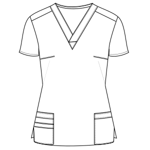 Select from a offer of dress patterns Nurse Jacket 795 UNIFORMS Sets