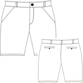 Choose your   sewing patterns Bermudas 656 MEN Trousers