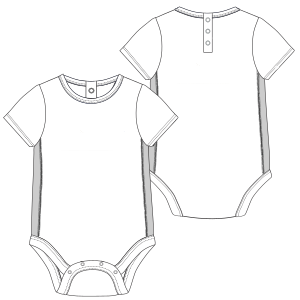 Select your   sewing patterns Body suit 6731 BABIES Bodies