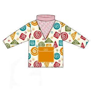 Dressmaking patterns for professionals Sweatshirt frieze 00189 BABIES Jumpers