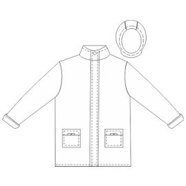 Dressmaking patterns for professionals Jacket 0007 BABIES Jackets