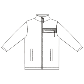 Browse our  sewing patterns Polar Jacket 00134 BABIES Jackets