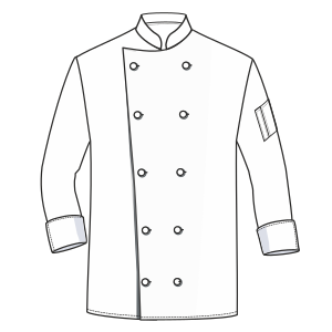 All our patterns have been tested and they are ready for garments production Chef Jacket 6004 UNIFORMS Shirts