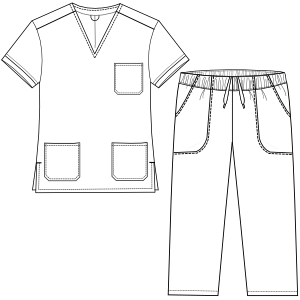Browse our  sewing patterns Doctor set 2951 UNIFORMS Sets