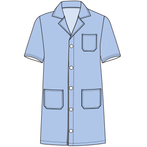 Consult our catalogue for sewing patterns Teacher smock 3099 UNIFORMS Shirts