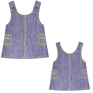 Browse our shop for sewing patterns Jumper Jean 00245 BABIES Dresses