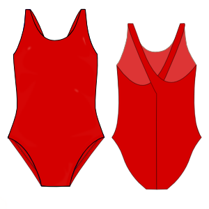 Browse our  sewing patterns Competition swimsuit WOMEN Swimsuit