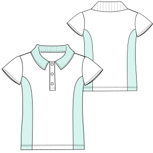Dressmaking patterns for professionals School T-shirt BC 6045 UNIFORMS T-Shirts