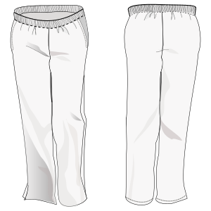 Browse our shop for sewing patterns Trouser 6849 UNIFORMS Trousers