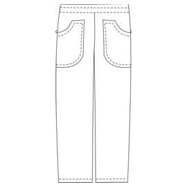 Select from a huge variety of dress patterns Trousers dentist 2828 UNIFORMS Trousers
