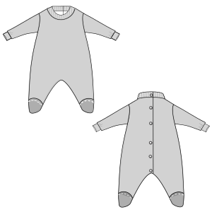 Consult our shop for sewing patterns Pyjamas 2803 BABIES Accessories