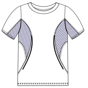 Browse through a offer of dress patterns T-Shirt 2892 MEN T-Shirts