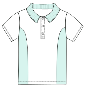 Browse through a offer of dress patterns School T-shirt 6026 UNIFORMS T-Shirts