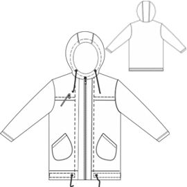 All our patterns have been tested and they are made for garments production Reversible Jacket 00103 BABIES Jackets