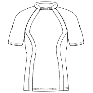 Select your   sewing patterns Cyclist T-Shirt 2938 MEN T-Shirts