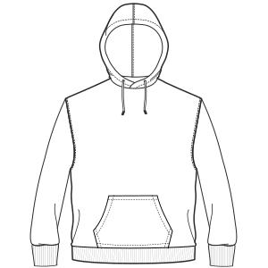 Hoodie Sweatshirt 6995