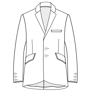 Choose your   sewing patterns Tailor Blazer 3031 MEN Jackets