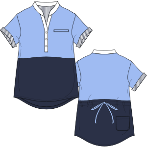 Consult our catalogue for sewing patterns Medical 7201 UNIFORMS Shirts