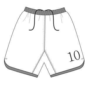Browse through a offer of costume patterns Football Short 2963 BOYS Trousers