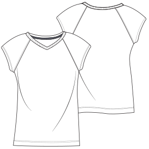 Select from a huge variety of dress patterns T-Shirt L 7072 LADIES T-Shirts