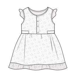 Select from a offer of costume patterns Dress 0018 BABIES Dresses