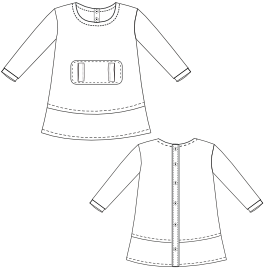 Select your   sewing patterns Dress Polar 0010 BABIES Dresses