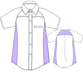 Browse our shop for sewing patterns T-Shirt Man UNIFORMS Shirts