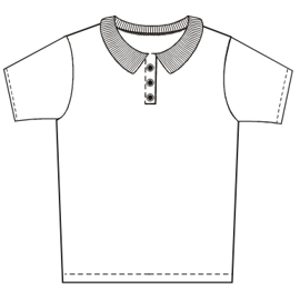 Easy dress patterns for domestic and professional users Chomba 302 BABIES T-Shirts