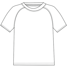 Consult our shop for sewing patterns Football T-shirt 2847 MEN T-Shirts
