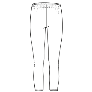 Browse our  sewing patterns Leggings 671 WOMEN Trousers