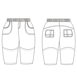 Browse our shop for sewing patterns Microfibre Trousers 00222 BABIES Trousers