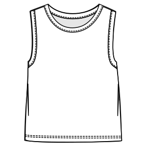 Browse our shop for sewing patterns Tank top 3090 BOYS T-Shirts