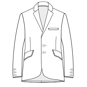 Browse through a offer of dress patterns Tailor Blazer 3031 MEN Jackets